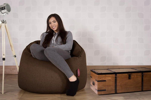 Cuddle-Up-Bean-Bag-Chair-Interalli-Wool-Brown_2