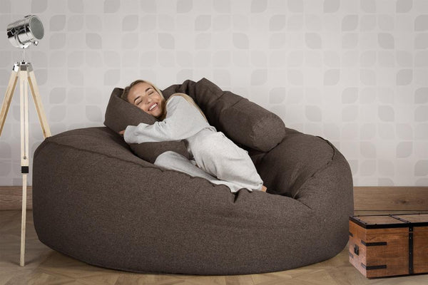 Mega-Mammoth-Bean-Bag-Sofa-Interalli-Wool-Gray_2