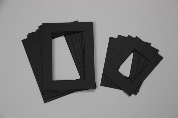 Trade Pack - Black, Black Core Various Sizes Mount - Pack of 14