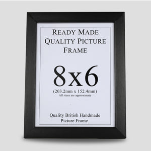 8x6 Black Picture Frame