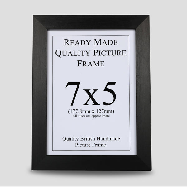 7x5 Black Picture Frame