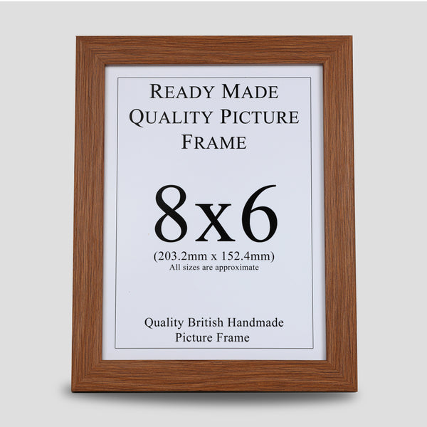 8x6 Oak Style Picture Frame
