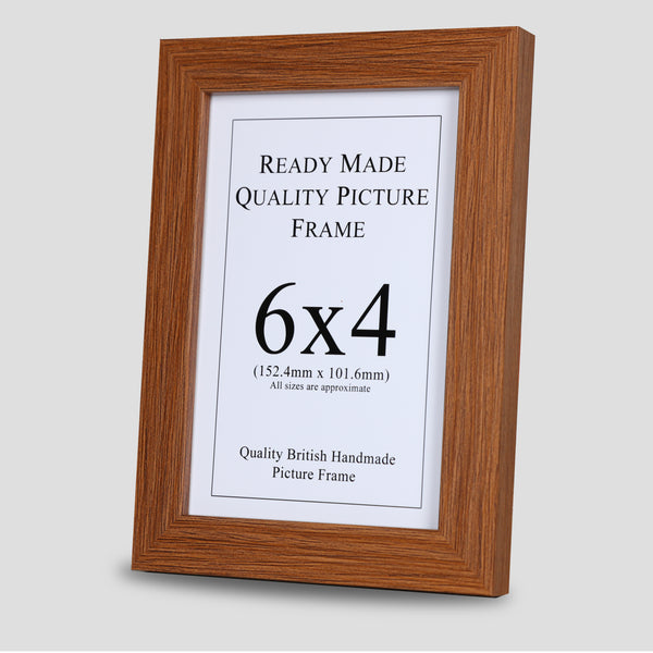 6x4 Oak Style Picture Frame