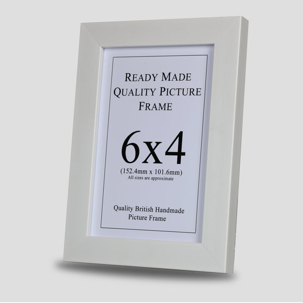 6x4 White Picture Frame