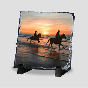 Personalised Photo Slate - Square 5x5