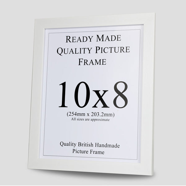 10x8 White Picture Frame