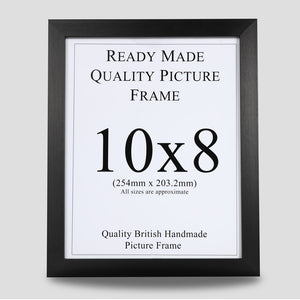 10x8 Black Picture Frame