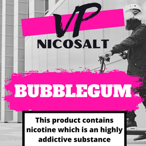 Bubble Gum Nicosalt 10ml  10mg