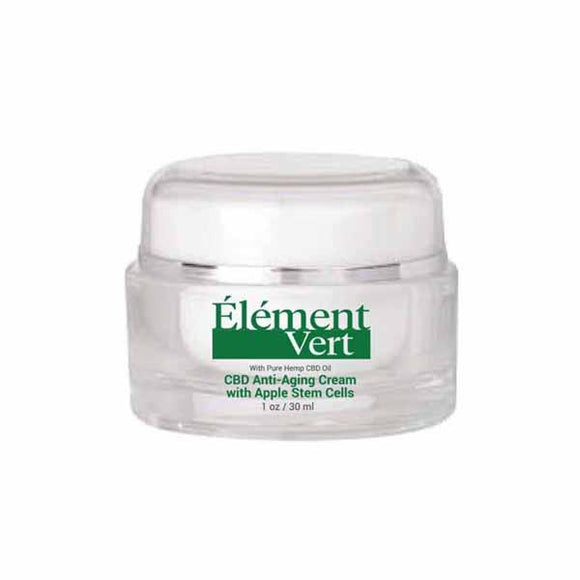 Element Vert CBD Anti-Aging Cream with Apple Stem Cells 30ml