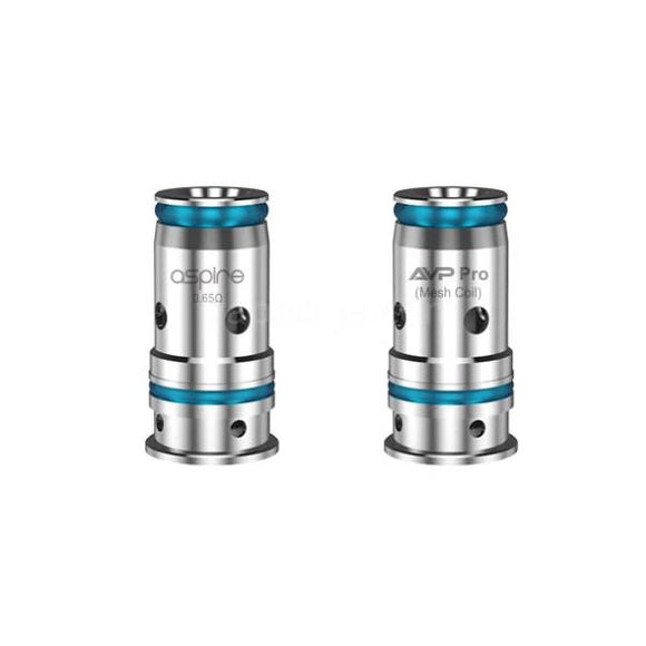 Aspire AVP Pro Replacement Coils 0.65ohm Mesh / 1.15ohm Standard Coil