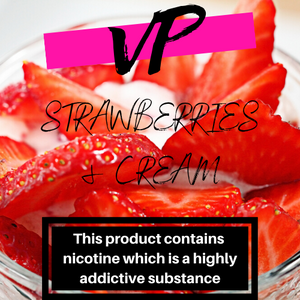 STRAWBERRIES AND CREAM 100ML ELIQUID