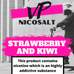 Strawberry & Kiwi Nicosalt 10ml 20mg