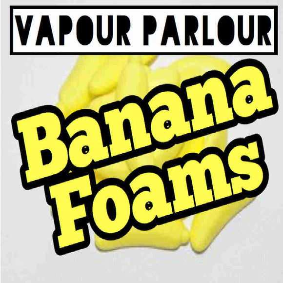 BANANA FOAMS 30ML ELIQUID