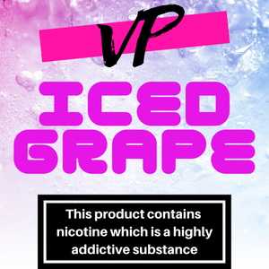 ICED GRAPE 100ML ELIQUID