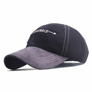MENS DENIM BASEBALL SNAPBACK HAT