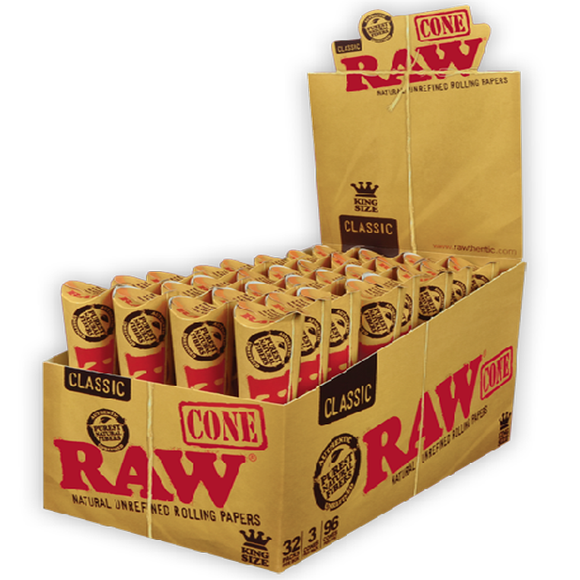 RAW CONE KINGSIZE CLASSIC 3 PACK