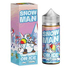 Snow Man On Ice by JuiceMan 0mg 100ml Shortfill (70VG-30PG)