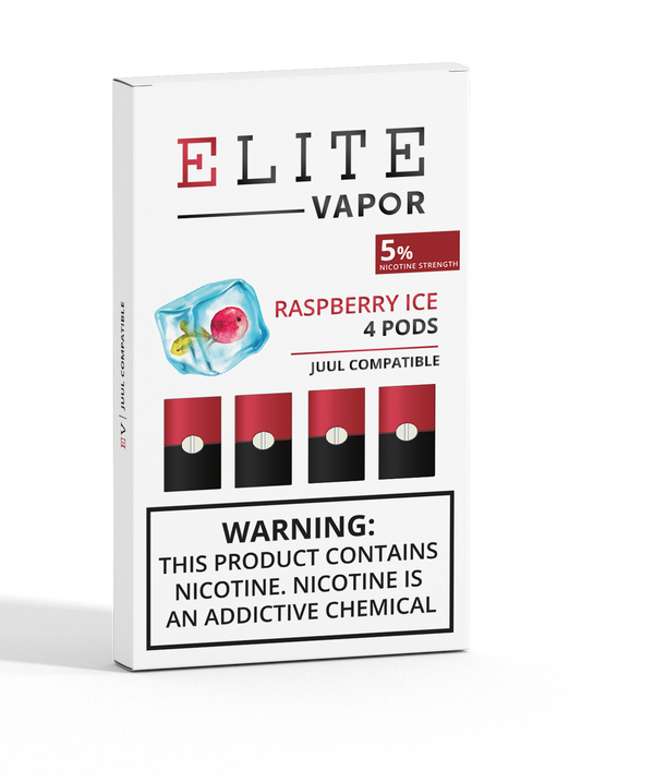 Elite 5% Raspberry Ice