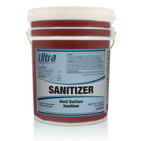 Ultra Professional - Sanitizer - Hard Surface Sanitizer - 5 Gallon