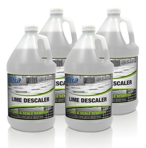 Ultra Professional - Lime Descaler - Lime & Scale Remover - 4x1 Gallon