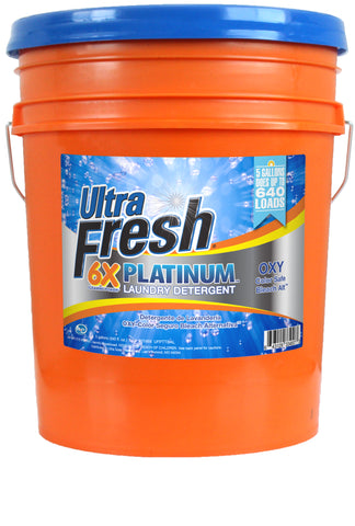 Ultra Fresh® Platinum™ Blue 6X Laundry Detergent OXY Bleach Alternative