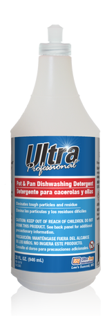 Ultra Professional™ Pot & Pan Dishwashing Detergent - 32oz Trigger