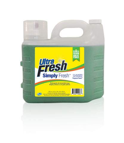 Club Pack of Simply Fresh™ Tropical Twist™ Laundry Detergent - 2/200 oz Jugs