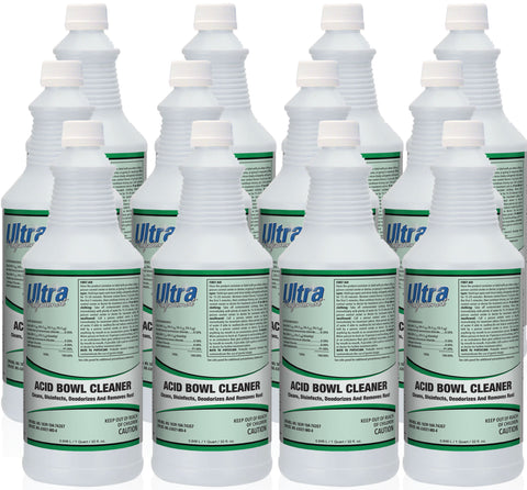 Ultra Professional - Acid Bowl Cleaner - 12 Quart Case