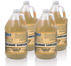 Ultra Professional™ - Chlorine Sanitizer - 4x1 Gallon
