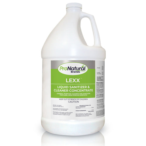 LEXX Food Safe Sanitizer - 1 Gallon