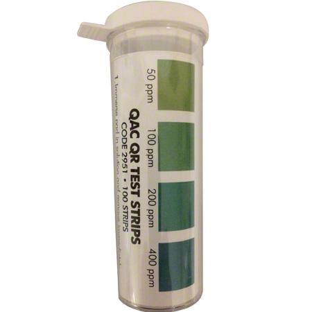 Quat Test Strips - 100/Vial