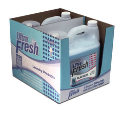 Club Pack of Ultra Fresh® Platinum™ Spring Fresh™ 3X Fabric Softener - 2/200oz Jugs