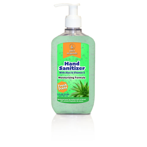 Hand Sanitizer - 62% Alcohol - 7.5 oz - Case/20