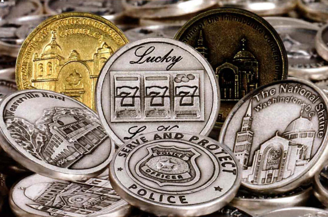 Create your own custom coins from tyler Treasures