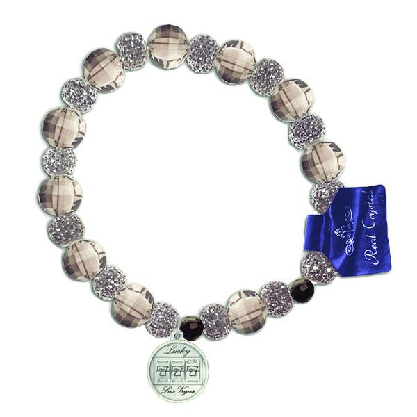 Lucky 7 Slots Stretch Smoke Colored Bracelet