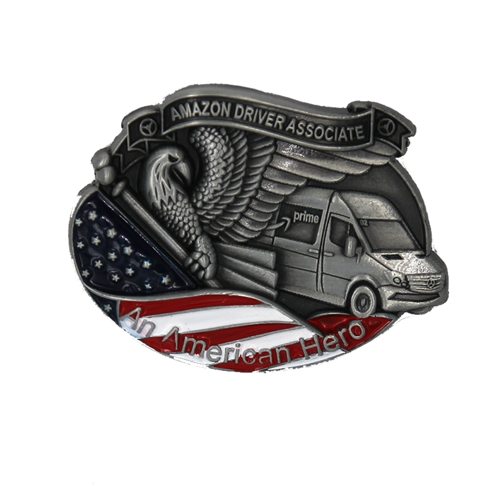 Amazon DSP American Hero Pin