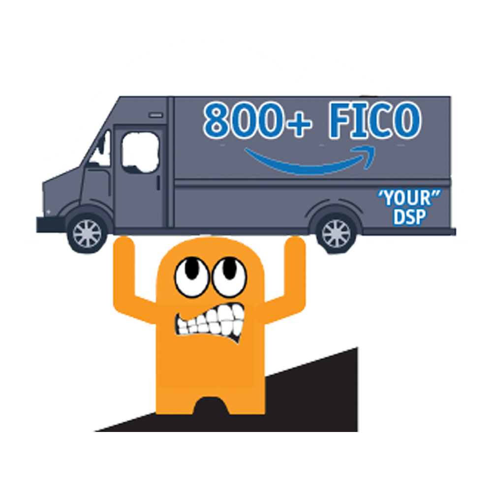 Amazon DSP Peccy Lifting Truck - FICO Pin