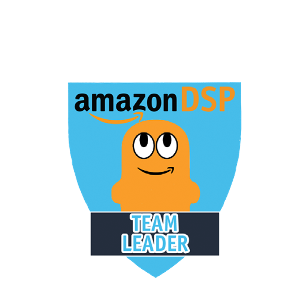 Amazon DSP Peccy Titles - Team Leader Pin