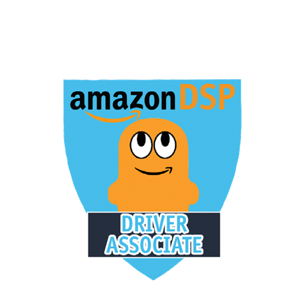 Amazon DSP Peccy Titles - Driver Associate Pin