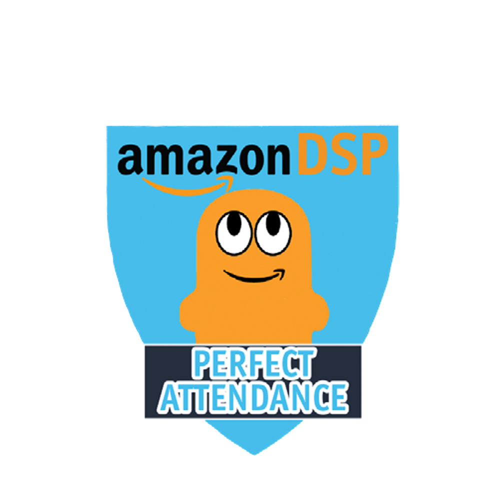 Amazon DSP Peccy Perfect Attendance - Motivational Pin