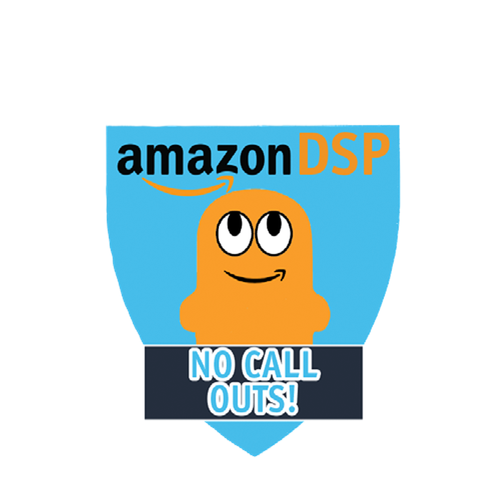 Amazon DSP Peccy No Call Outs - Motivational Pin
