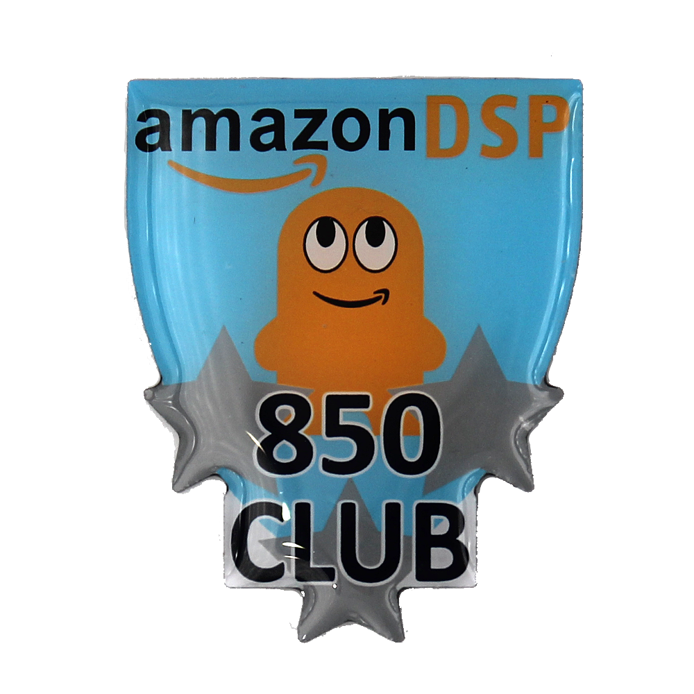Amazon DSP Amazon DSP 850 Club Pin