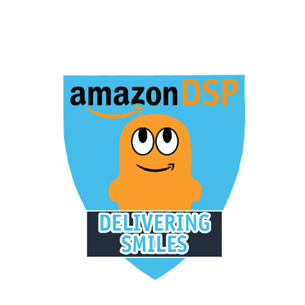 Amazon DSP Peccy Delivering Smiles - Motivational Pin