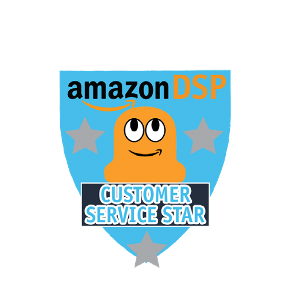 Amazon DSP Peccy Customer Service Star Pin