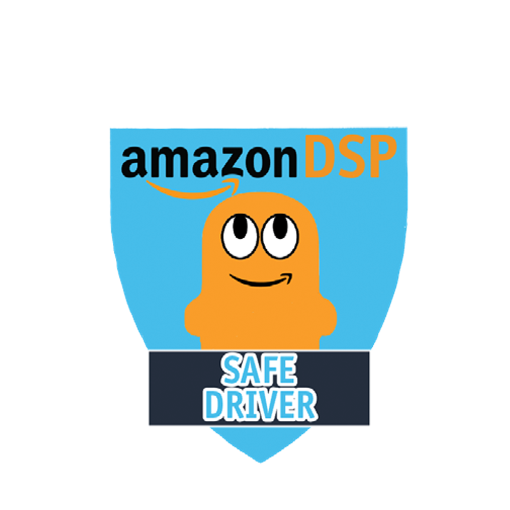 Amazon DSP Peccy Safe Driver - Motivational Pin