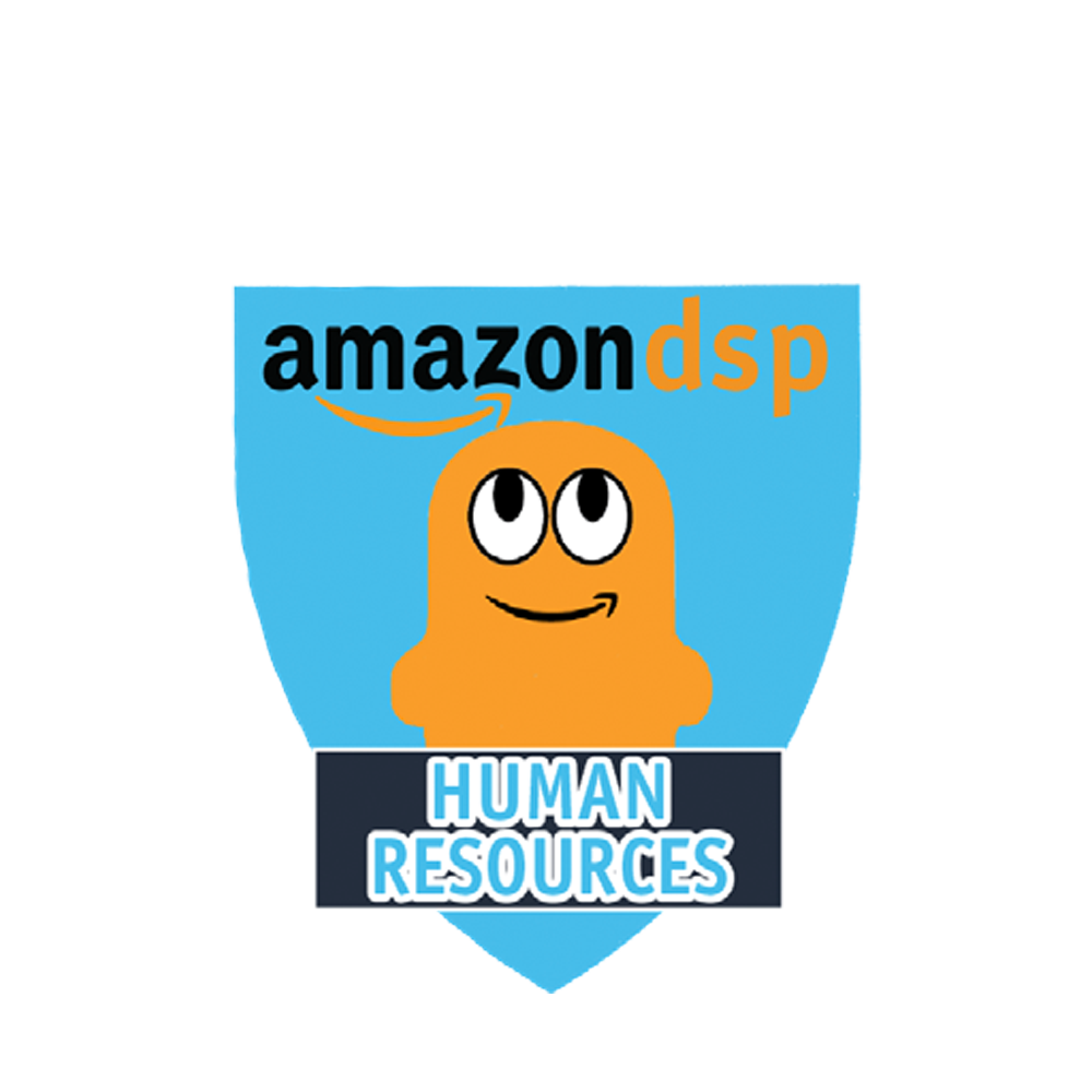 Amazon DSP Peccy Titles - Human Resources Pin