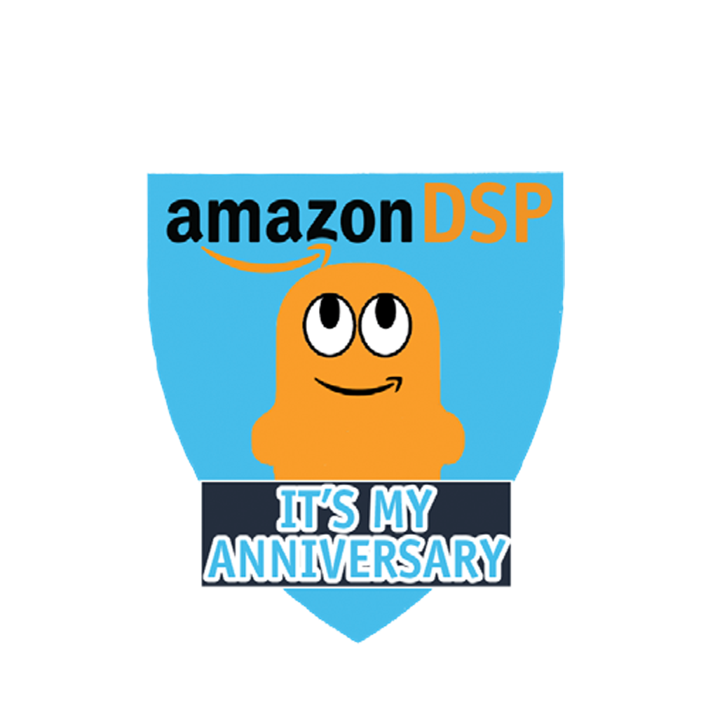 Amazon DSP Peccy - Its My Anniversary Pin