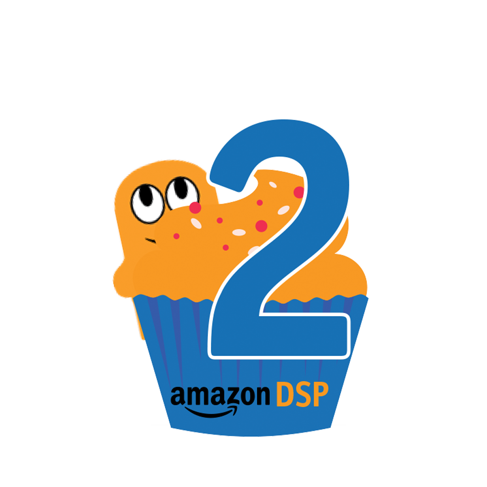 Amazon DSP Peccy Two Year Anniversary Pin