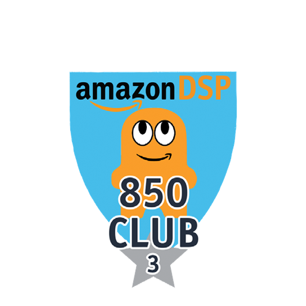 Amazon DSP Peccy 850 Club - 3 month FICO Pin