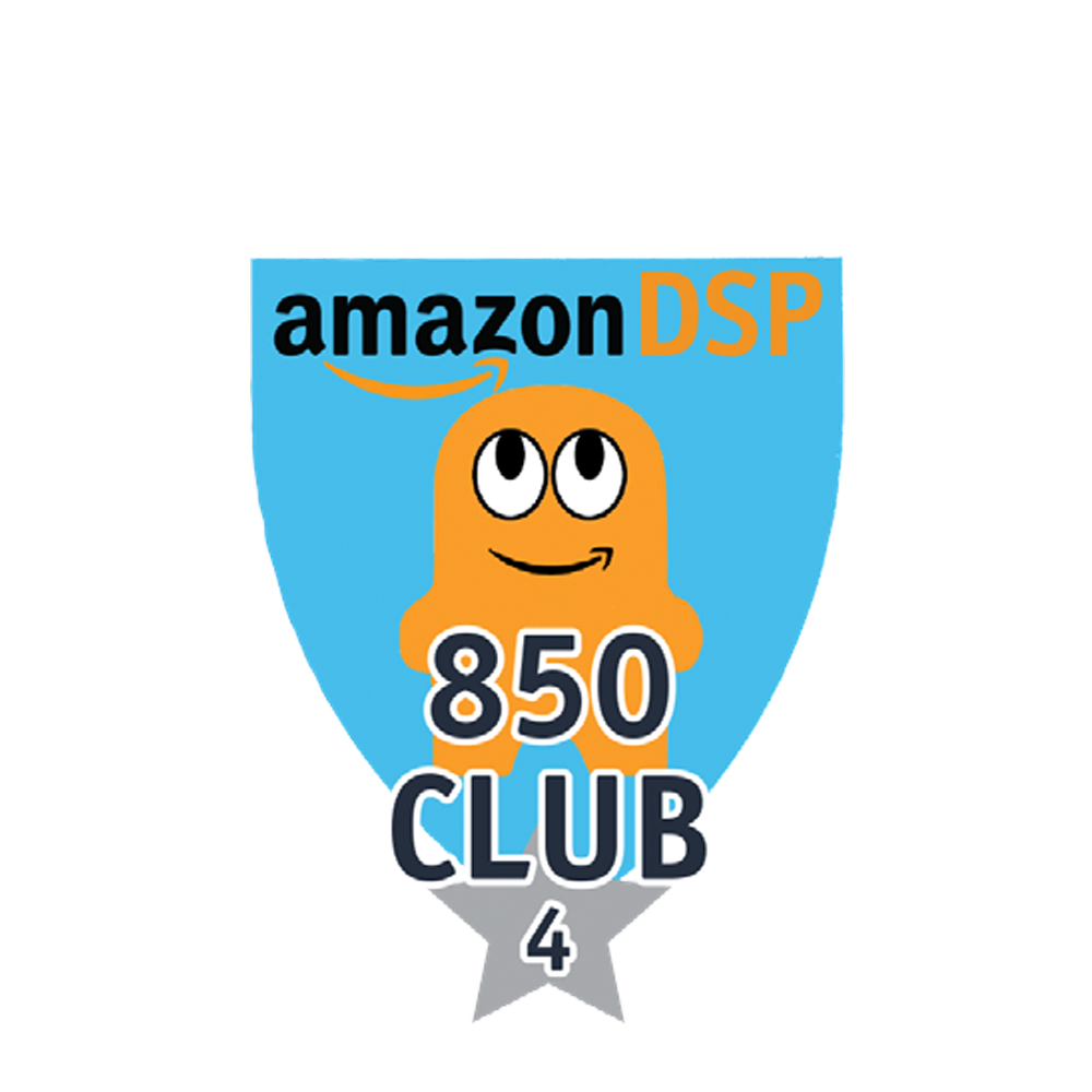 Amazon DSP Peccy 850 Club - 4 month FICO Pin